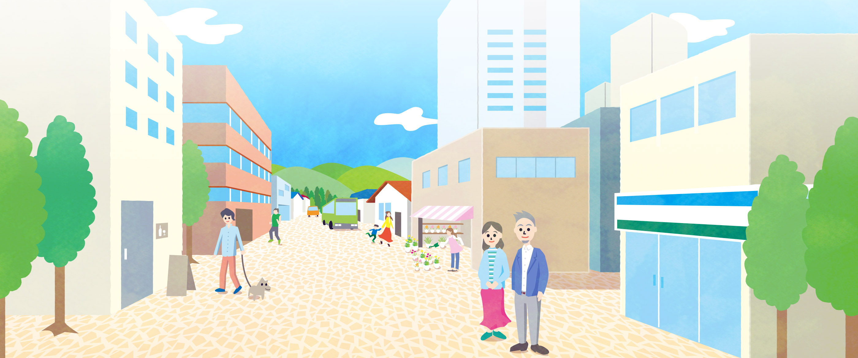 TAKEUCHI不動産(タケウチ不動産)PCトップページメインビジュアル